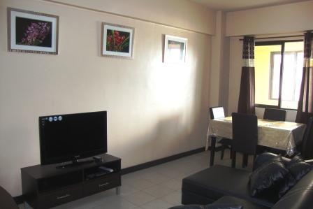 Lounge and Dining - Two bedroom apartment at Cypress Towers - Taguig City - rentals