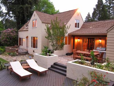 Villa Tranquila, Sunny Patio with Outdoor Dining - Villa Tranquila - Guerneville - rentals