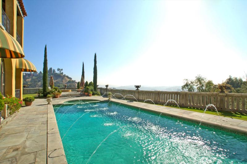 this is your view from bed! - The Villa Sophia - Romantic Honeymoon Spa Retreat - Los Angeles - rentals