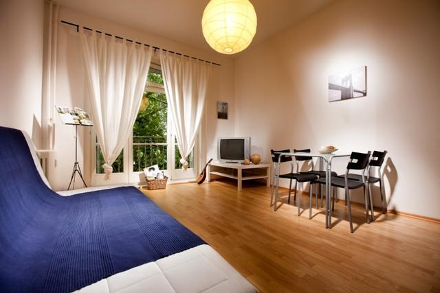 Living room - 006ST: A Luxury 2-Room-Apartment in Berlins Heart - Berlin - rentals