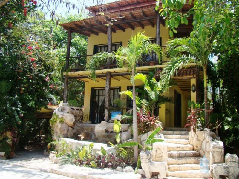 street view - CASA SOMBRA VERDE - unique Mexican style villa! - Playa del Carmen - rentals