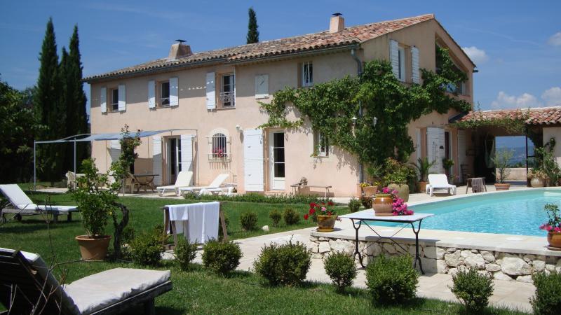 The Charm of Aix en Provence: Mas Bel Azur- Beautiful 9 Bedroom Villa - Image 1 - Provence - rentals