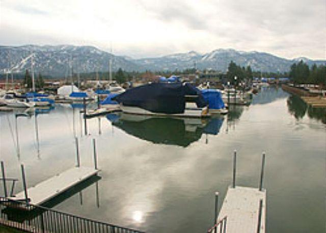 Lovely Tahoe Keys condo with a spectacular view of the marina, #44 - Image 1 - South Lake Tahoe - rentals