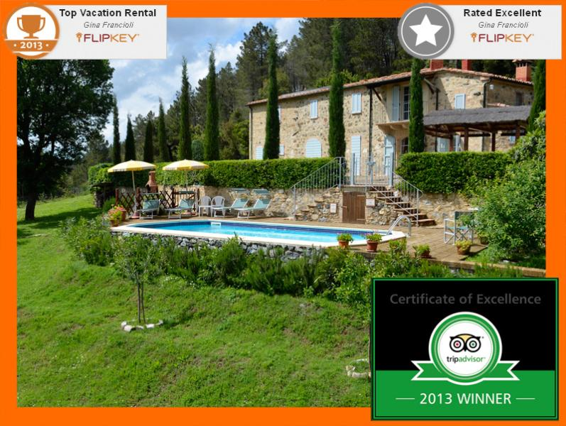 Villa in Tuscany with provate pool - Tuscany Villa with pool - Villa le Capanne - Siena - rentals