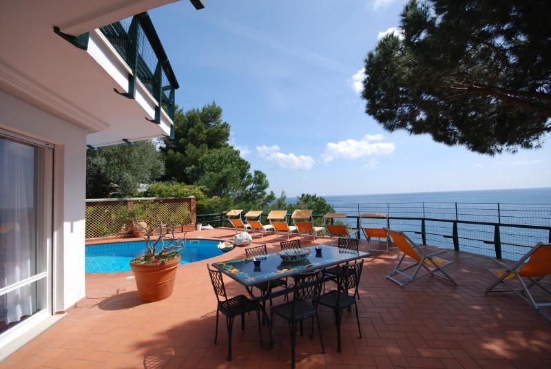 Beautiful Villa on the Sorrento Peninsula Near a Beach  - Villa Nerano - Image 1 - Nerano - rentals