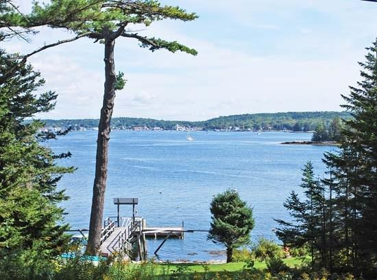 View out over Boothbay Harbor - WITH-THEE BY THE SEA - Town of Southport - Southport Island - rentals