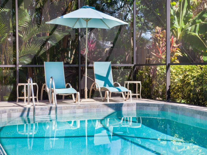 Large Heated Pool and Deck - Magnificent  Pool Home Close to Beach and Downtown - Naples - rentals