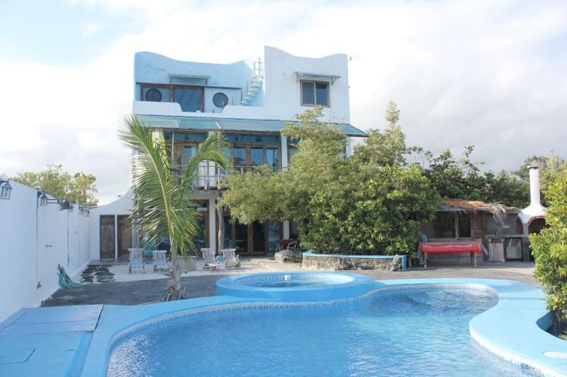 Villa seen from dock - Galapagos Ocean Front Villa: - La casa di Furio - Puerto Ayora - rentals