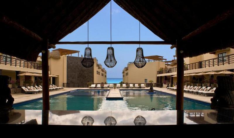 Fabulous Common Area Pool - Rooftop & Private Pool on Mamitas Beach! - Playa del Carmen - rentals