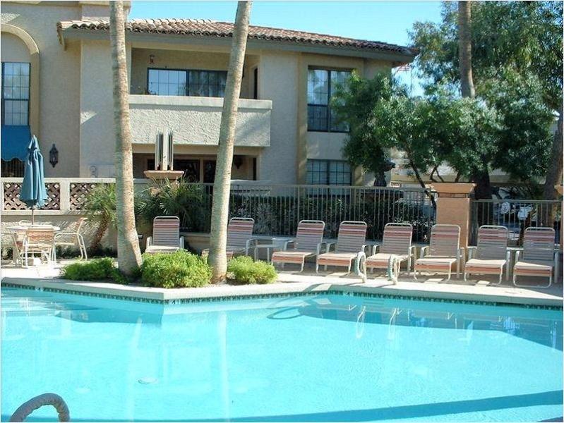 one of three pools at Pointe Resort - Perfect Condo - Beautiful Location!  Kiva Condo - Phoenix - rentals