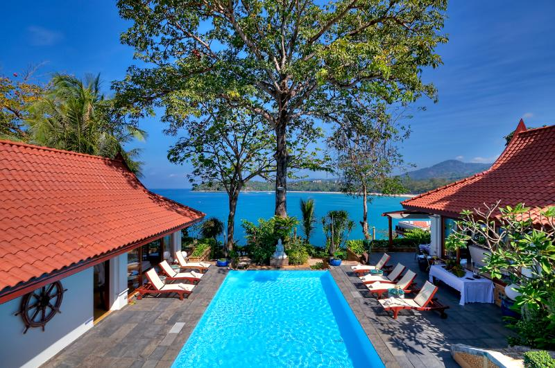view from upper bedrooms - Baan Kata Keeree or VillaPhuket - Kata - rentals