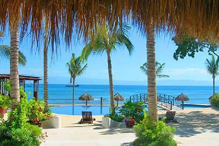 Hacienda de Mita - Beachfront Garden Level with pool & tropical landscape - Image 1 - Punta de Mita - rentals
