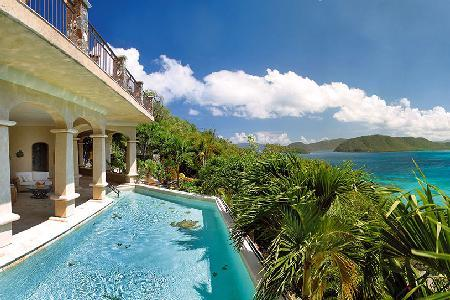 Seacove - Beautiful villa with lush landscaping & pool - Image 1 - Peter Bay - rentals