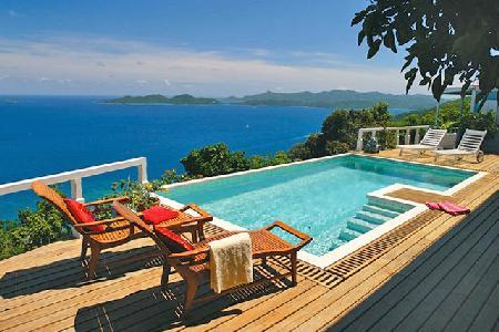Toa Toa House - Impressive hideaway offers pool, beautiful sunsets & convenient location - Image 1 - Tortola - rentals