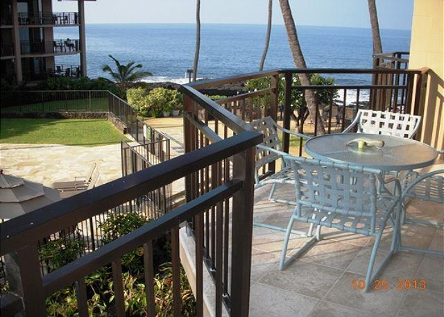 Ocean View Lanai - nearly ocean front! - Kona Makai 6204 - Popular Complex Near Downtown Kona - Kailua-Kona - rentals