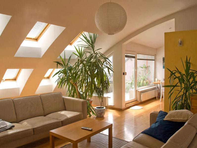 living room - Penthouse Zagreb - Zagreb - rentals