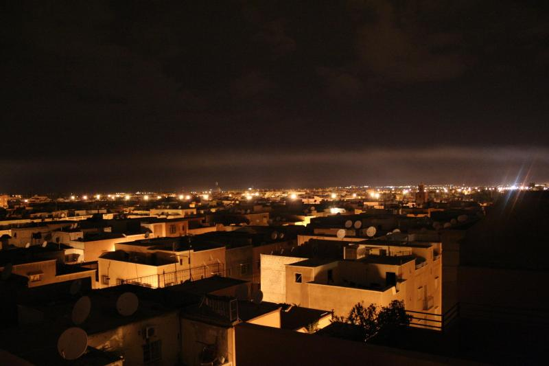 Night view from the terrace - Fantastic Apartment with  Atlas Mountain views - Marrakech - rentals