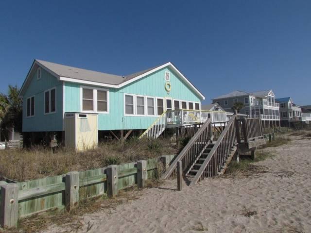 """714 Palmetto Blvd - """"Palmetto Peach"""" - Image 1 - Edisto Beach - rentals"""