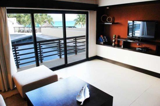 Aldea Thai Brisa del Mar - living room with ocean view - Vacation rentals Playa del Carmen - Aldea Thai Brisa de Mar - Playa del Carmen - rentals
