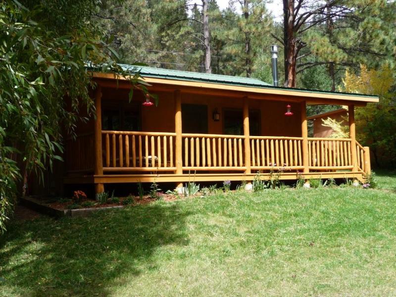 Hummingbird Cabin in spring - Hummingbird Cabin on the Pecos - Pecos - rentals