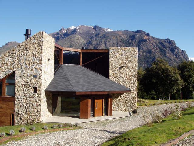 Front Entrance - Premium property in Arelauquen,Patagonia Argentina - San Carlos de Bariloche - rentals