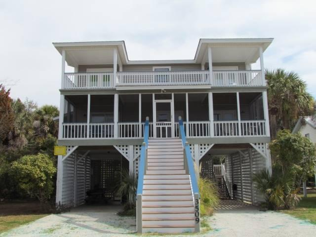 "3509 Palmetto Blvd - ""Tootsies in the Sand"" - Image 1 - Edisto Beach - rentals"