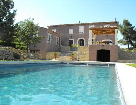 Amazing Rognes Holiday Rental with a Pool, 6 Bedroom Villa - Image 1 - Rognes - rentals