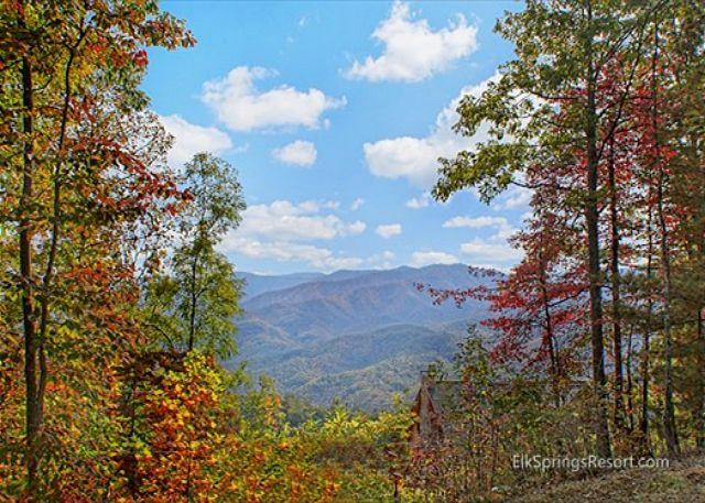 """Amazing Views of the Great Smoky Mountains - 60"""" HD TV With Bose Sound System - Image 1 - Gatlinburg - rentals"""