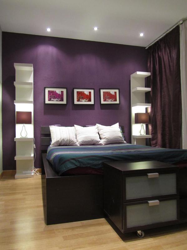 Master Bedroom - Madrid Central  design 3 bedroom  best Rated apt - Madrid - rentals