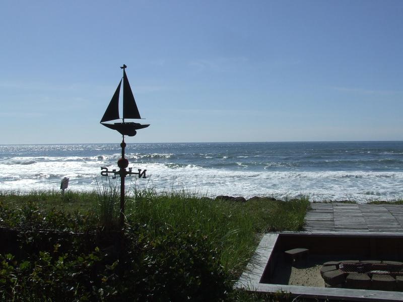 Ocean front View - Seafarer's Cabin,beachfront with Crows Nest,Oregon - Rockaway Beach - rentals