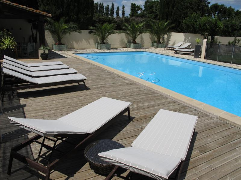 Relax by the heated pool - Heated Pool - Child friendly gardens - Beach 10min - Perpignan - rentals