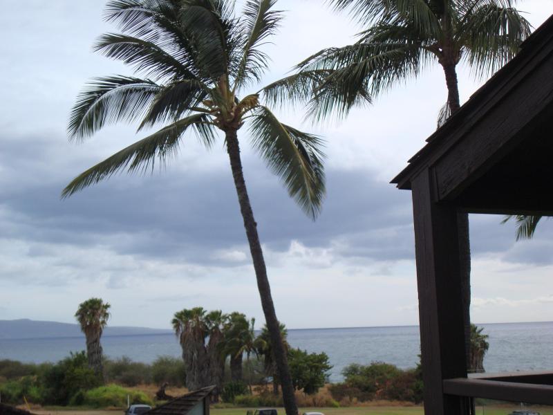 View from living room, kitchen and lanai out to Molokini - Hale Kamaole #309 -Spacious  2+ bdrm Kihei Condo - Kihei - rentals