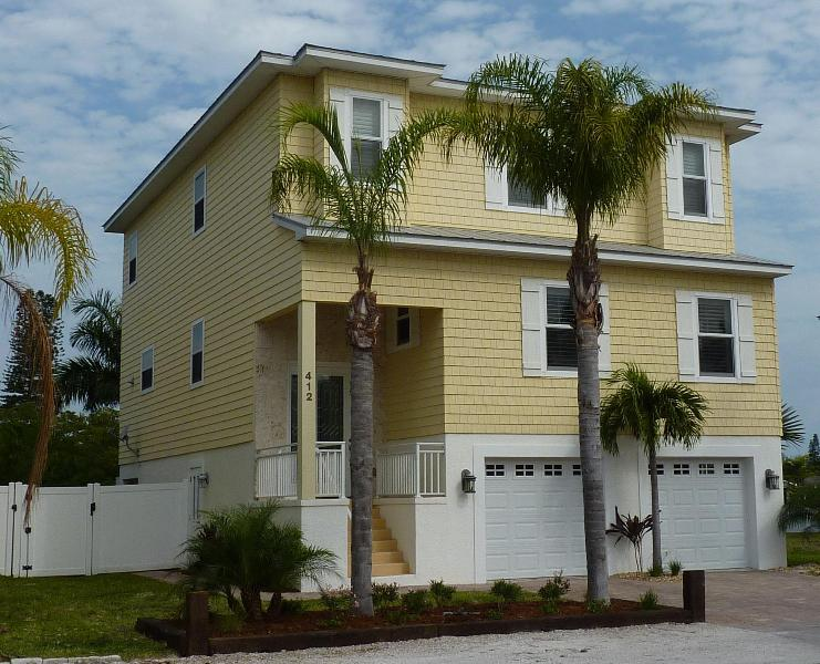 Our home! - 4 bed luxury upscale executive waterfront home - Anna Maria - rentals