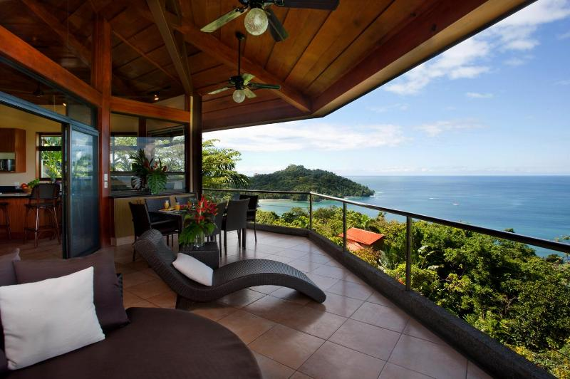 Wile away the afternoons with fantastic ocean views - #1 Rental - Amazing Ocean Views, Wildlife, & Beach - Manuel Antonio National Park - rentals