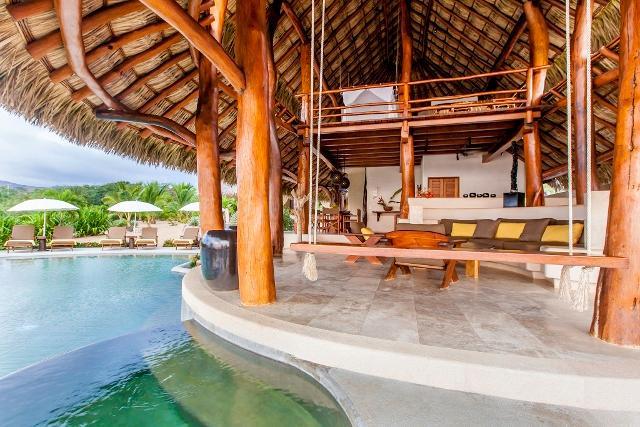 The Great room - Enjoy a rock free ocean swim at Villa Milagro! - Troncones - rentals