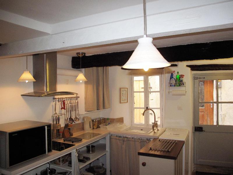 Kitchen - La Petite Maison - Pepieux - rentals