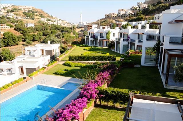 Terrrace Overview - Gumusluk Villa with view Dream Valley BRONZE - Gumusluk - rentals