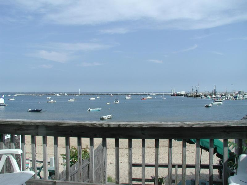 unit14 view from your deck - Angels Landing direct Waterfront condo #14 - Provincetown - rentals