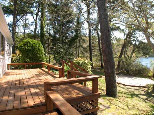 Deck - WATERFRONT on Lover's Lake - CM0375 - Chatham - rentals