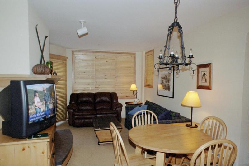 View from entry - Silvermill, Large 1 BR Condo, King Bed, Low Rates - Dillon - rentals