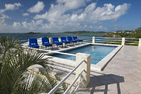 Blue Serenity - Spacious 1 level villa with gym, pool & panoramic ocean vistas - Image 1 - East End - rentals