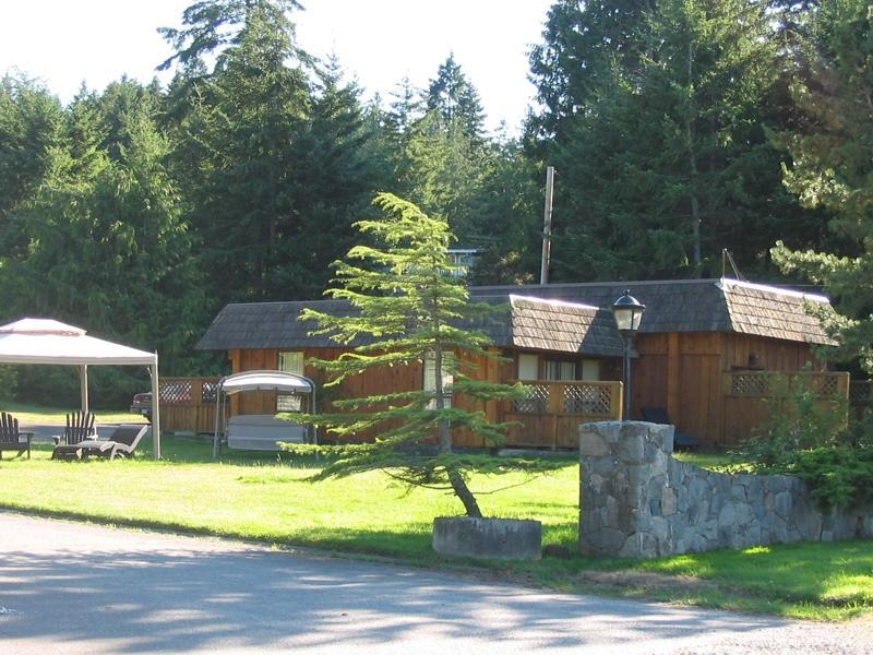 Gate House from Road - Gate House - 4 Bedroom 2 Bath - Gabriola Island - rentals
