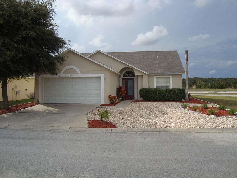villa front - Lakeview villa - Davenport - rentals