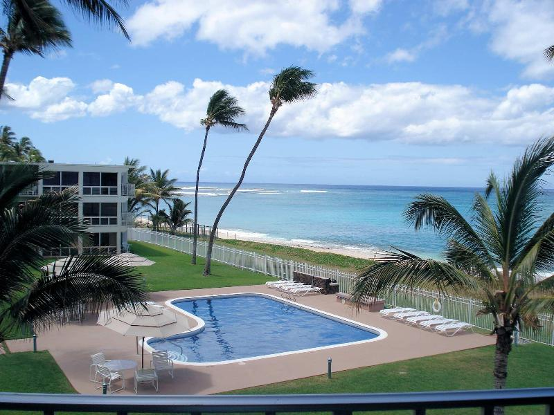 Maili View from Lanai73 (2) - Sandy Beach Front Oasis! 1 Bed on Ocean, Oahu, KoO - Waianae - rentals