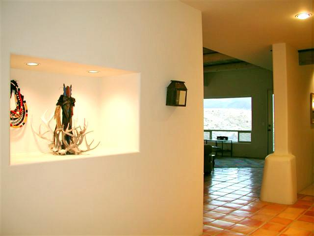 Foyer to living room - Casa Tortuga - Taos - rentals