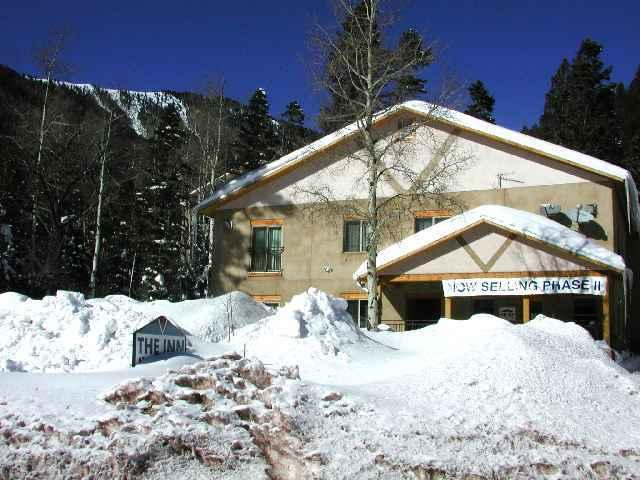 Winter Exterior approach to complex - Inn at Taos Ski Valley 6 - Taos - rentals