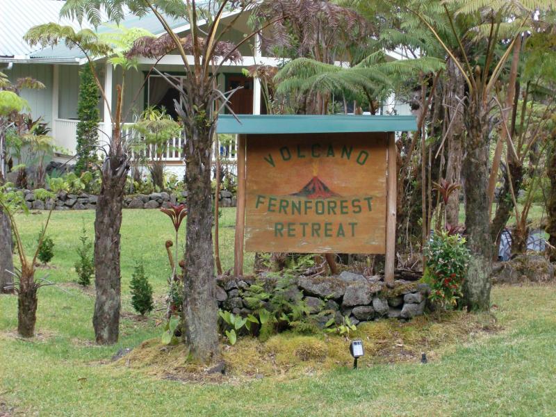 Entrance - Vacation Rental / B&B - Volcano - rentals