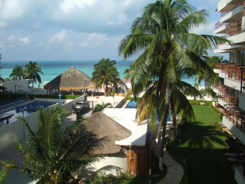 balcony view - Ixchel Beach Hotel/Condo - Isla Mujeres - rentals