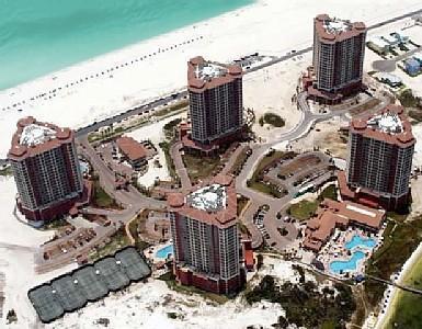 Portofino ariel view - Portofino 3 Bed 3.5 Ba  Booking Aug/Sep Free Wi-Fi - Pensacola Beach - rentals