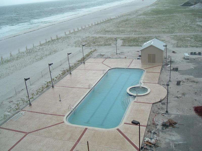 Sans Souci pool--Now Complete--More Pictures Soon - Sans Souci  2 Bed 1.5 Ba $85 Free Internet - Pensacola Beach - rentals
